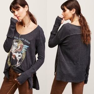 ISO Free People 'Steve Miller Band' Thermal Top